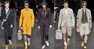 Spring-summer 2010 men's wear