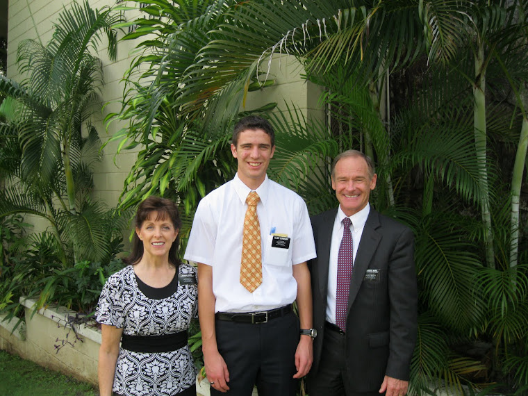 At Panama with Mission Parents