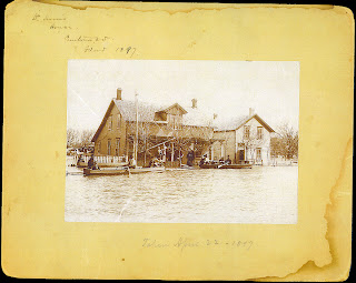 April 22, 1897 - Dr. Harris home in Pembina, ND