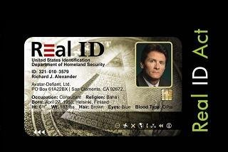 The Real ID Coming Soon!!!
