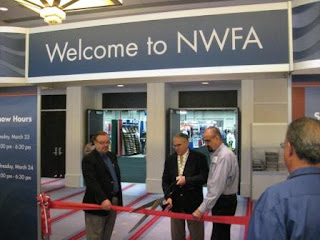 Ed Korzak and Don Finkell, NWFA 2010 ribbon-cutting ceremony