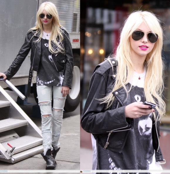 how to get taylor momsen hair