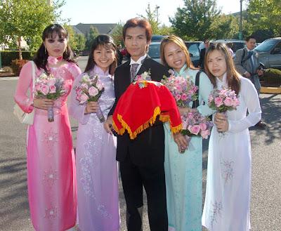 Manh quynh wedding