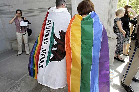 California is able to issue marriage licenses to same-sex couples, ...