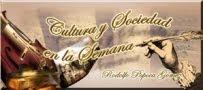 """Espacio Cultural """"CULTURA Y SOCIEDAD EN LA SEMANA"""""""