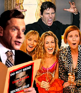 david miscavige reads tom cruise's secrets at parties