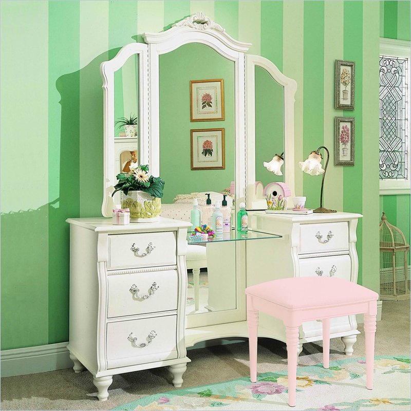 girls bedroom vanity. Vanity Set For Girls Bedroom Kids  Interior Design