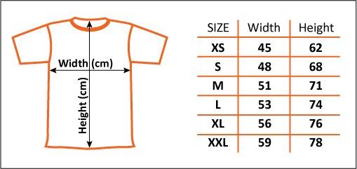 Orange Couple Tshirt - T shirt design size template