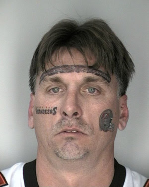 bad tattoos of faces