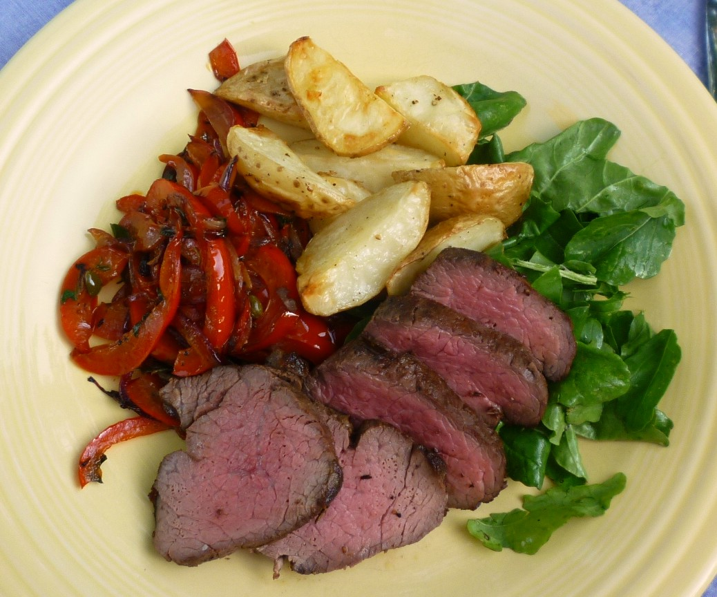how to cut a whole beef tenderloin