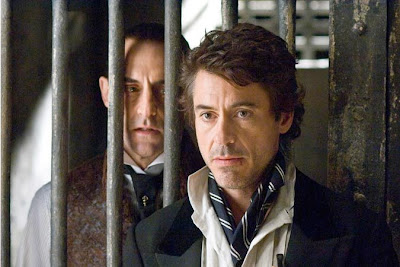 Mark Strong and Robert Dwney Jr. - Sherlock Holmes Movie