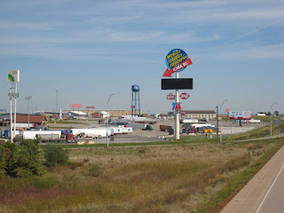 Largest Truck Stop http://daveandjacks-trip.blogspot.co.uk/