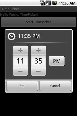 TimePickerDialog
