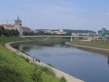 Wilia-Neris- rzeka płynąca przz Wilno