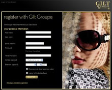 Click below for your exclusive invitation to the Gilt Groupe. Shop designer fashions up to 70% off
