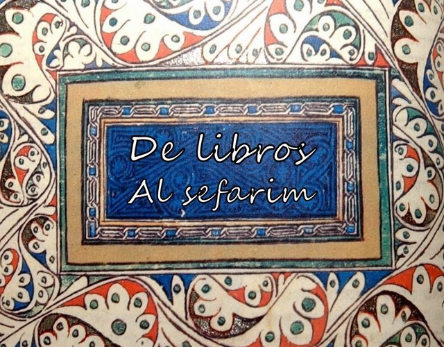 De Libros - Al Sefarim