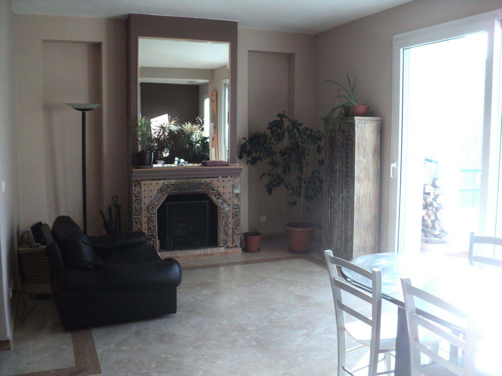mes travaux coin cheminee avant apr s. Black Bedroom Furniture Sets. Home Design Ideas