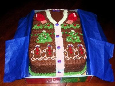 The Ugly Sweater: Edible Sweater Goodness