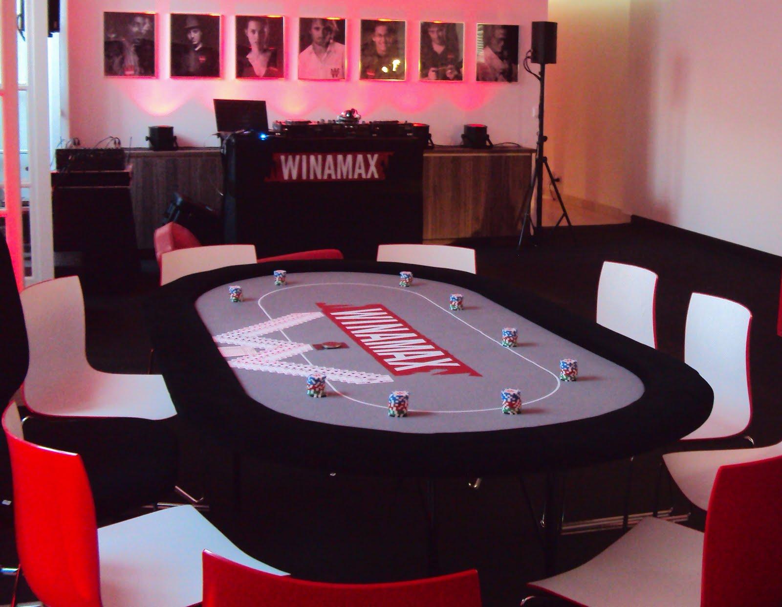 Las Vegas Poker Food Winamax Party Les Photos