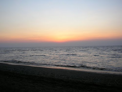 sunset sea beach <span class=