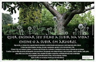 Consuma menos e viva mais - Árvore