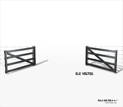 Homenagem da Nike para o Ronaldo Fenômeno, no blog Publiloucos