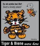 Tiger und Biene