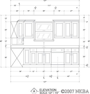 Design september 2012 for Standard space between counter and upper cabinets
