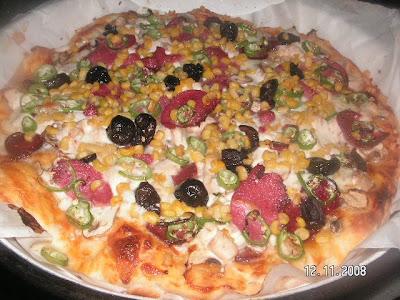 Tavuklu Pizza (İtalyan)
