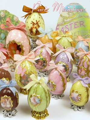 emmaflam and miniman easter miniatures on the minifood blog