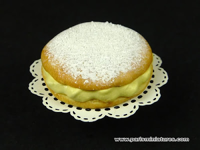 Miniature Tarte Tropzienne