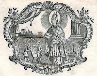Engraving of St Honoré