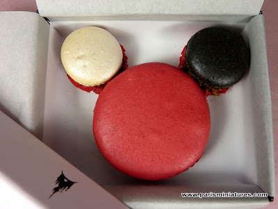 The Ladurée Mickey Mouse Macaroon
