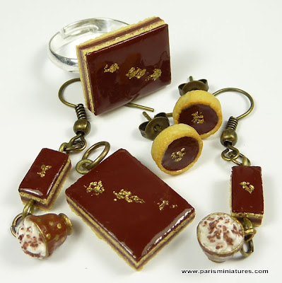 Chocolate Opéra Collection - Miniature Food Jewellery