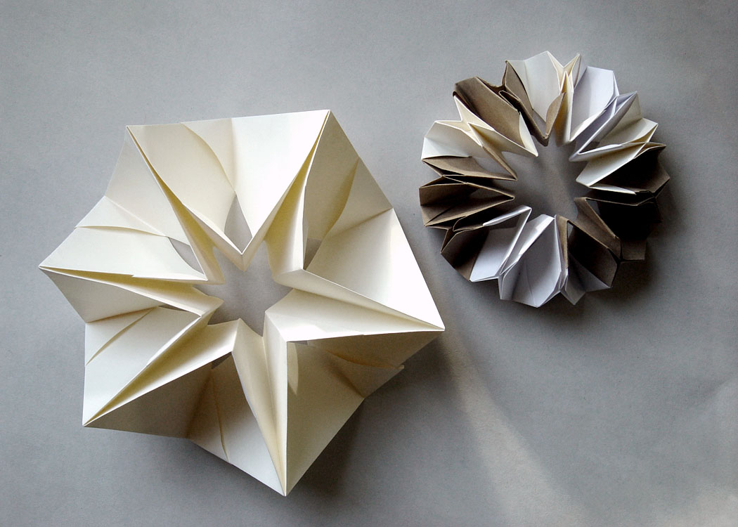 folded paper forms