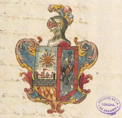 Escudo de armas, concedido por