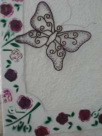 Borboleta - da artista Sandra Martineli