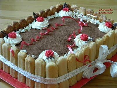 Gâteau d'anniversaire TIRAMISU / Tort TIRAMISU