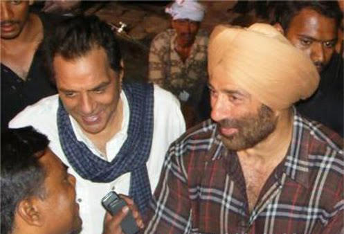Sunny Deol with his