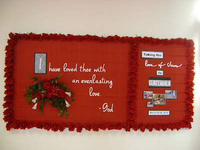 Simply Fye's: Valentine's Sunday School Party & Bulletin Boards