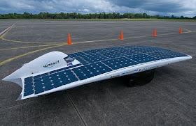 O Veículo mais rápido movido a energia solar