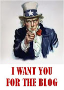 I WANT YOU FOR THE BLOG