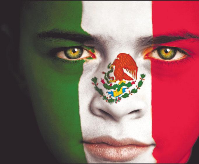 Receta Mexicanas Bandera+de+Mexico