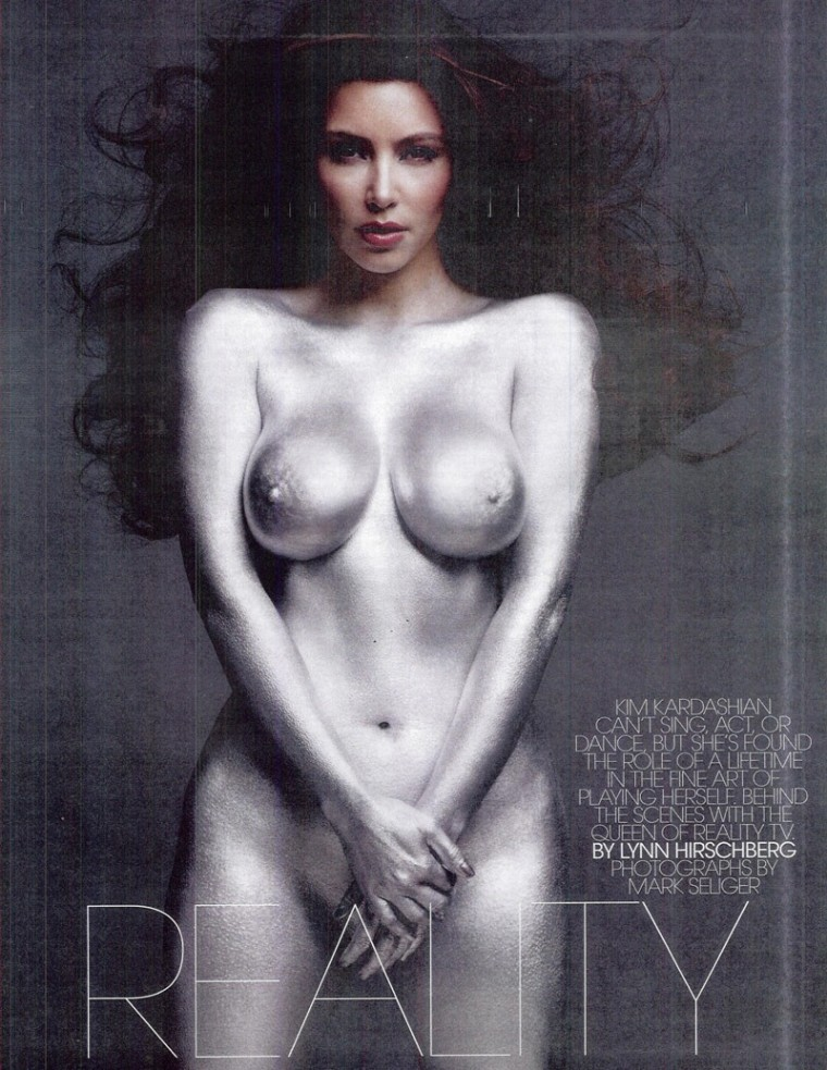 And Kim kardashian nude uncensored
