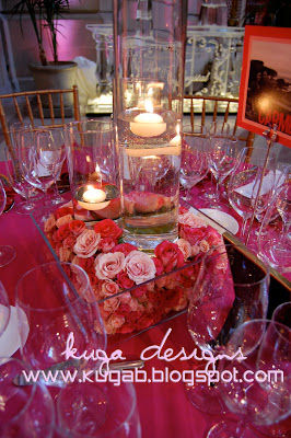 Kuga Designs Pink City Hall Wedding The Reception