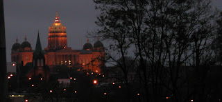 Iowa Capitol Building by Night