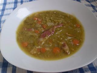 Rustic Split Pea Soup