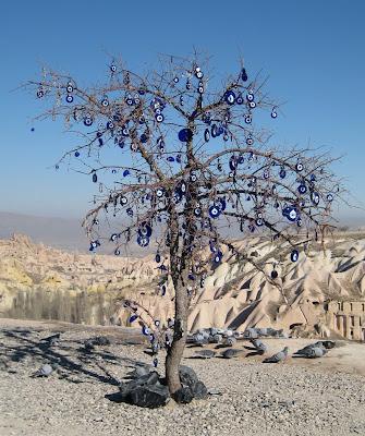 Evil Eye Tree di turki at unik-qu.blogspot.com