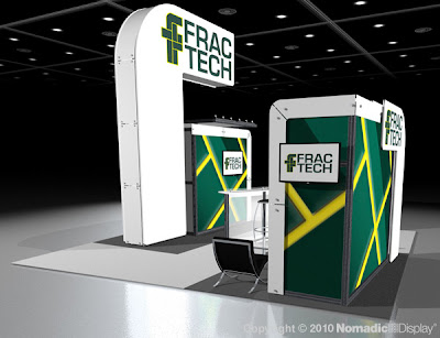 like this booth design, estimated price for this booth $85,000 - $