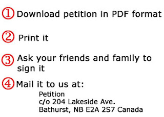 Download our petition